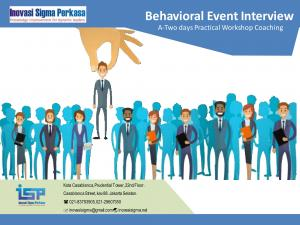 Behaviroal Event Interview